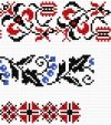 Free downloadable PDFs of Ukrainian embroidery patterns