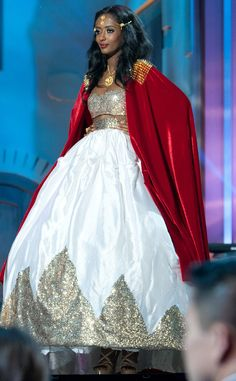 Miss Ethiopia from 2014 Miss Universe National Costume Show