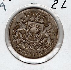 Item specifics    									 			Circulated/Uncirculated:   												Circulated  									 			Country/Region of Manufacture:   												Latvia    									 			Year:   												1926   							 							  1926 Latvia 2L  Price : $14.00  Ends on : Ended Order Now