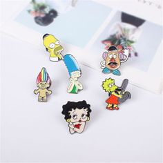 XQ 2016 free shippingFashionable woman cute cartoon characters popular interesting brooch-in Brooches from Jewelry & Accessories on Aliexpress.com | Alibaba Group