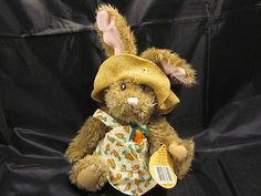 99 Cent Auction of the Day:  A #PickfordBear Plush Bunny with 24 carrot appeal