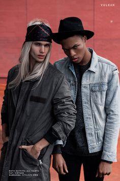 Editorial for Vulkan Magazine New York Photos by: Patrycja Toczyńska Models: Mateusz Maga, Scott Camaran