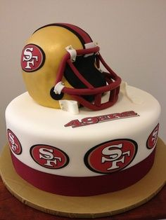 FORTY NINER CAKE SPORTS PARTY!
