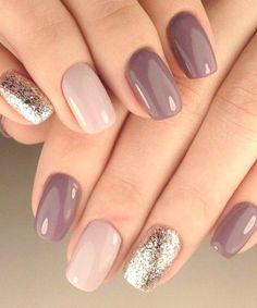 Beauty Nails - Nail art design yourself # nail polish # gel nails design - Nagellack Ideen Manicure Nail Designs, Acrylic Nail Designs, Nail Manicure, Acrylic Nails, Nails Design, Manicure Ideas, Ideas For Nails, Nail Ideas For Winter, Nail Tips