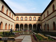 Corte Ducale Castello Sforzesco #Milano #Italy / Giovanni Longo #art #travel https://www.facebook.com/giovannilongo.art