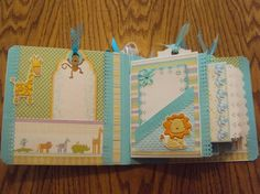 Riley's Baby Album by GracieCakes - Cards and Paper Crafts at Splitcoaststampers