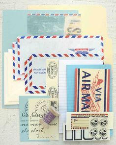 Airmail Serendipity Kit by HandmadeBySomerset on Etsy, $14.95