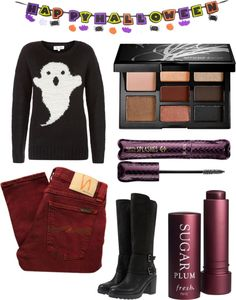 """""""A Hauntingly Good Time"""" by jezzay ❤ liked on Polyvore"""