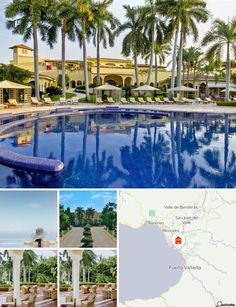 Surrounded by tropical gardens, this attractive hotel is situated in the tourist district of Puerto Vallarta. The beach is situated about 500 m from the hotel and the resort centre is roughly 15 minutes away. Links to the public transport network can easily be reached on foot (300 m away).