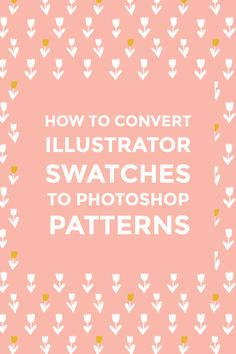 Illustrator pattern swatches are not compatible with Photoshop, but you can still use them as Photoshop patterns if you follow this simple tutorial.