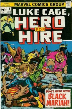 Hero for Hire # 5 by Billy Graham