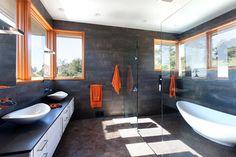 Brettkelly Residence, Oakland, CA - contemporary - bathroom - san francisco - Dotter & Solfjeld Architecture + Design