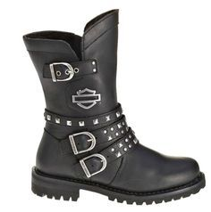 """Harley-Davidson® Women's 8"""" Adrian Motorcycle Riding Boots"""
