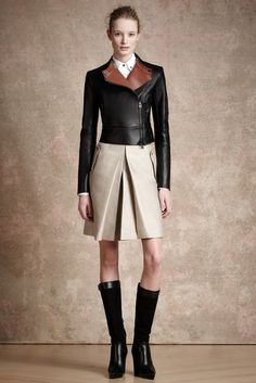 designerleather:  Maud Welzen for Belstaff Pre-fall 2013 such a hot Equestrian look with feminine flare