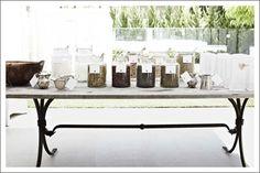 Tea buffet