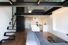 vista general apartamento loft