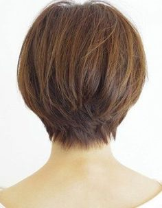 Back View of Cool Short Haircuts 2015 For Women