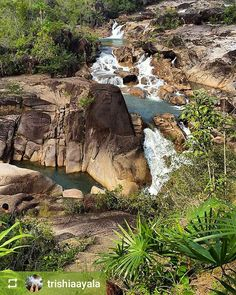 #Follow @trishiaayala: Rio on Pools #waterfalls Mountain Pine Ridge Forest Reserve #Belize #ILoveBelize #Travel #beautiful #paradise #nature #naturelovers #naturelovers #naturephotography