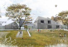 Galería de 12 oficinas que representan atmósferas arquitectónicas usando collage - 43