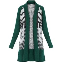 Dagmar Lucie Green Mohair Cardigan ($160) ❤ liked on Polyvore featuring tops, cardigans, green, thick knit cardigan, green cardigan, open front tops, mohair cardigan and dagmar
