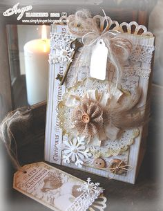 Inger Harding: Vintage Gift Bags  These are just gorgeous!!