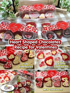 Still having a hard time deciding on what to give for Valentines? Why dont you go with the good old but classic chocolate treats? Like this Heart Shaped Chocolates! Types Of Chocolate, Dark Chocolate Bar, Chocolate Hearts, How To Make Chocolate, Chocolate Desserts, Melting Chocolate, Filipino Desserts, Filipino Recipes, All You Need Is