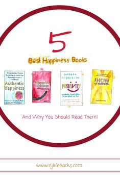 5 Best Books on Happiness (And Why You Should Read Them) Reading Lists, Book Lists, Good Books, Books To Read, Get A Girlfriend, What Book, Power Of Positivity, Books For Teens, Psychology Facts
