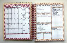 homemade blog planner ... genius