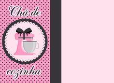 Convite de Chá de Cozinha: modelos para baixar e imprimir