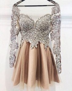 2016 short homecoming dresses, luxurious prom dresses, beaded prom dresses, long…