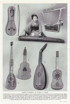 french ancient instruments