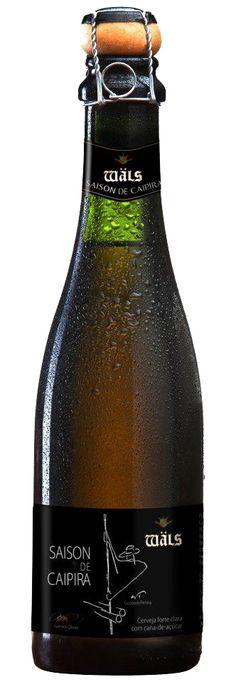 Cerveja Wäls Saison de Caipira (cana de açúcar)