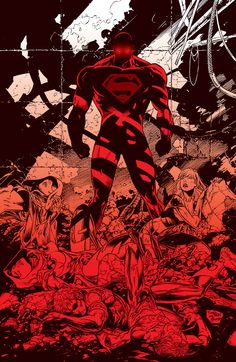 Tony Daniel Art #superman #DC #comic