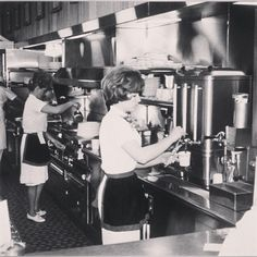 Needing our coffee fix even in the 60's