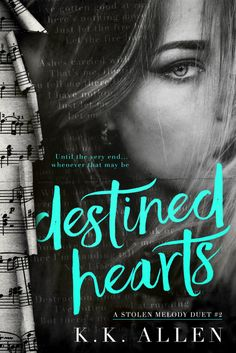 Destined Hearts by K.K. Allen  Excerpt Reveal  Cover Design: Okay Creations  Photo credit: Vellum and Wing  Release Date: July 27 2017  Synopsis      He stole her lyrics and then he stole her heart.  Lyric Cassidy is off the tour lost as to what her next career move will be and certain that shell never love again after Wolf. All because of a social media scandal that left her with no choice but to pack up and face the consequences. When she learns that the fate of her career is in her hands…