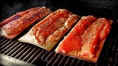 Chile-Honey Cedar Plank Salmon