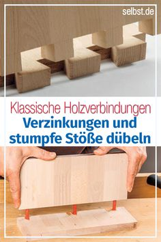 Discover real joiner's knowledge to create solid and durable wood joints in the wood workshop! The post wood joints appeared first on Woman Casual - DIY and crafts Outdoor Wood Projects, Wood Projects That Sell, Wood Projects For Beginners, Small Wood Projects, Scrap Wood Projects, Woodworking For Kids, Woodworking Joints, Woodworking Projects Plans, Teds Woodworking