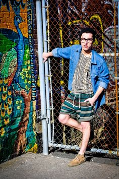 Spring Trends, Menswear, Aztec, Tribal prints, Denim, Chambray, Mens Fashion