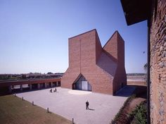 mario botta architetto / church in seriate italy, 1994-2004