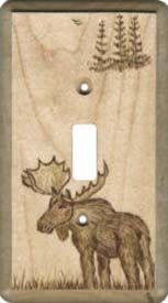 Moose and Pines Light Switch Plates, Outlet Covers, Wallplates