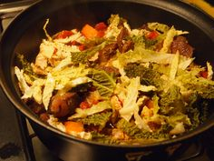 Winterse rundvlees-stoofpot met savooiekool. Kijk voor het recept op www.beproefd.nl