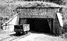 #hiking the Upper Mine Tour at Brazeau Collieries, Nordegg, Alberta, Canada