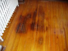 How To Get Black Spots Out Of Wooden Floors Floors Pinterest Water And Child
