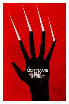 Nightmare On Elm Street Poster 11X17 by TrevorDunt on Etsy