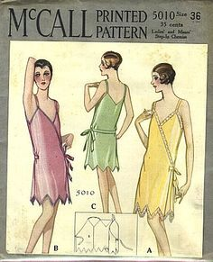 Best Vintage Patterns - Vintage Patterns 1920s-VERY Boardwalk Empire, and looks pretty easy to do