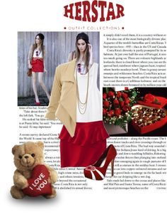 """""""HERSTAR Valentine's Day Date Outfit!"""" by missmelika on Polyvore"""