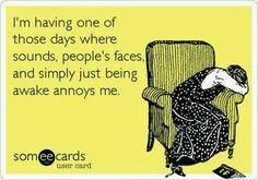 some days, this definitely happens!
