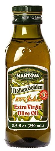 Mantova Golden Italian Extra Virgin Olive Oil, 8.5-Ounce Bottles (Pack of 3) * You can find more details at this image link at baking desserts recipes board