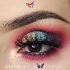 Eye Makeup Tutorial eye makeup tutorial, pink eyeshadow #makeup #eyemakeup #makeuptutorial #makeupvideo #huda #eyeshadow #eyebrow<br> Finally sweet summer arrived! Like everything change in summer, our makeup style also changes. We started to prefer shimmery and natural colors... Colorful Eye Makeup, Pink Makeup, Simple Makeup, Huda Eyeshadow, Pink Eyeshadow, Krystal Clear Makeup, Fairy Eye Makeup, Shadow Video, Natural Summer Makeup