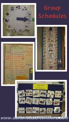 Visual Schedule Series: 5 Reasons to Use Group Schedules by Autism Classroom News at http://www.autismclassroomnews.com